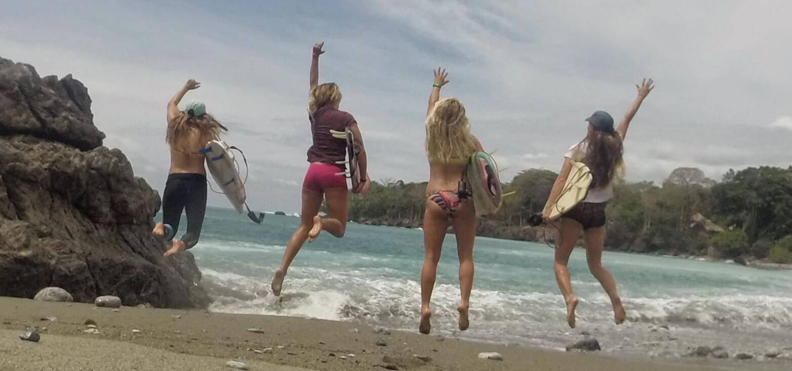 Surfcamp Surf With Amigas Panamá in Bocas del Toro, Bocas del Toro, Panamá