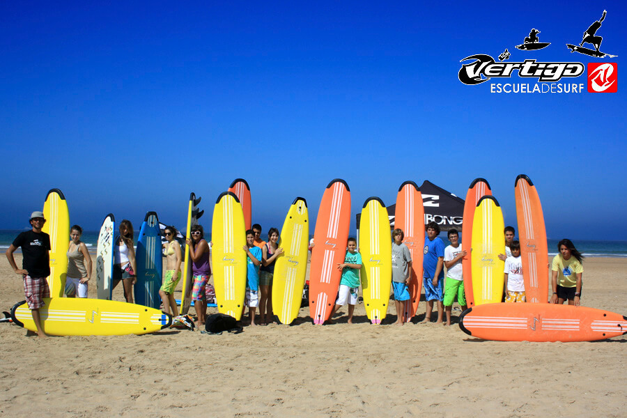 Surfcamp Vértigo Escuela de Surf in Conil de la Frontera, Andalucia, España