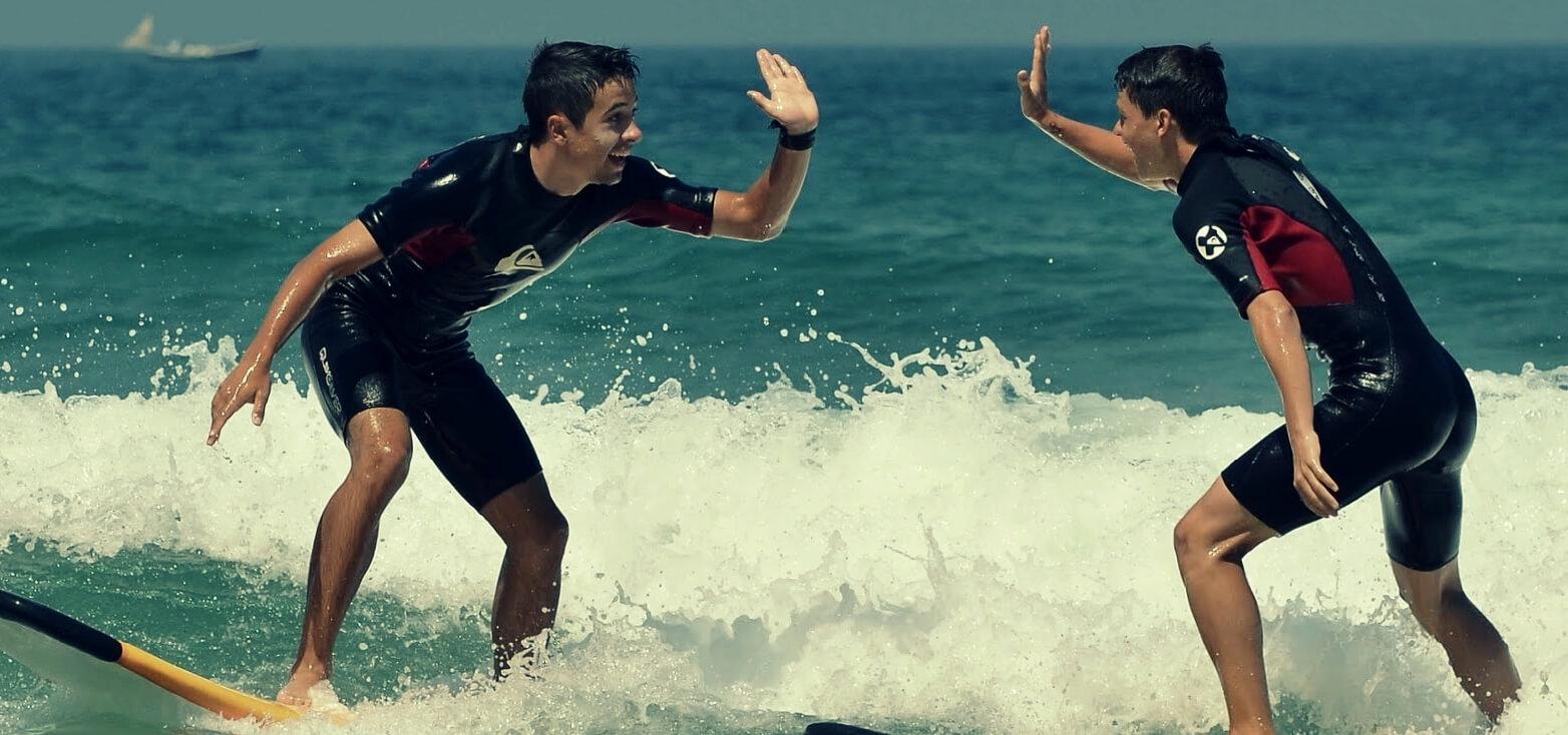 surfschule surfing san sebastián | totalsurfcamp