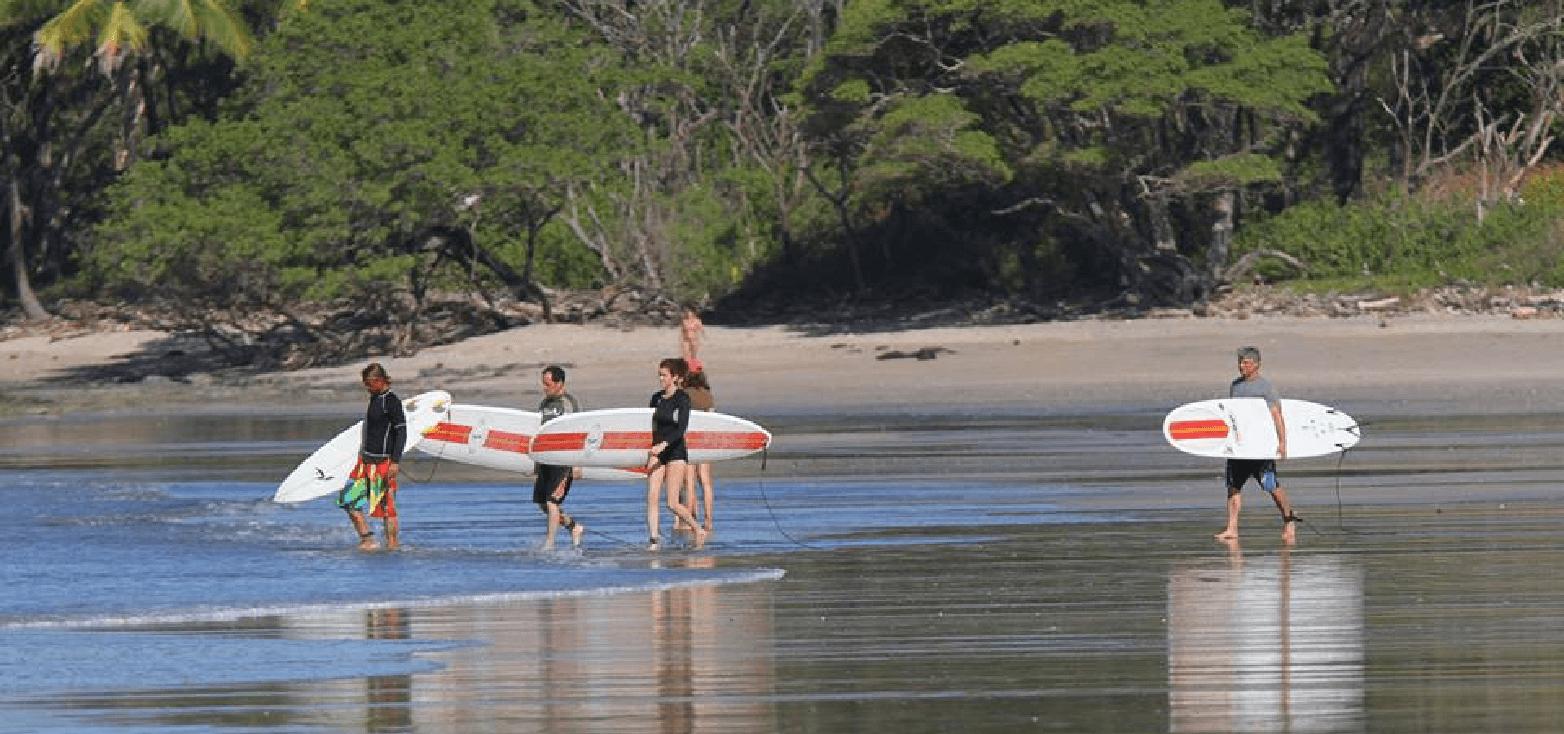 Surfcamp Nosara Surf Academy in Nosara, Guanacaste, Costa Rica