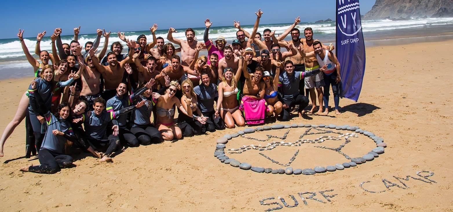 Surfcamp Wavy Surf Camp Portugal in Vila do Bispo, farol, Portugal
